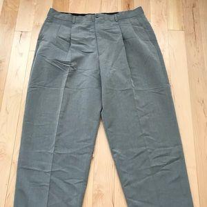 Men's 38/32 Grey taupe dress slacks